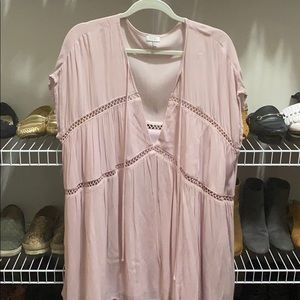 Tobi pale pink dress